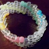 Clear Glow N' The Dark Cuff