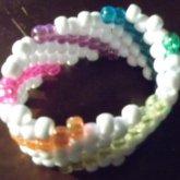Sparkly Rainbow Cuff