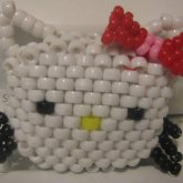 Hello Kitty W/red Bow