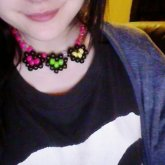 Neon Heart Necklace