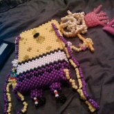 Spongebob Jellyfishing Backpack (back)