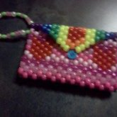 Rainbow Heart Purse