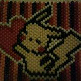 Pikachu Flat Kandi Poster