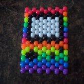 Rainbow Gameboy Necklace