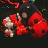 3d Ladybug Cuff