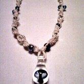 Hemp/glass Mushroom/beads