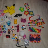 My Kandi Cuffs, Singles And Stuff That I Plan On Putting On My Kandi. :3