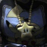 Mario Star Necklace