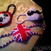 My first kandi masks. :)