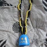 Pac Man Ghost Necklace