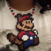Raccoon Mario Necklace
