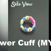 Heart & Flower Cuff