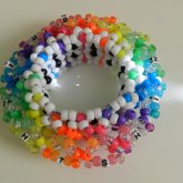Rainbow UFO 3D Cuff 2