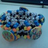 Robot Pins Boxy Cuff