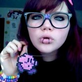 Kirby Perler Necklace