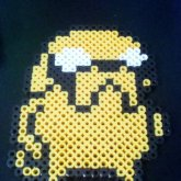 Jake The Dog Perler