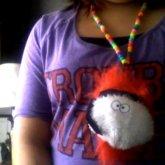 Fuzzy Ninja Necklace