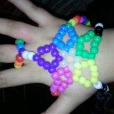 Kandi Hand Glove Thingy