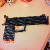 Ebony Gun Square Stitch