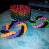 Some Twisters && A Rainbow Sparkly Cuff
