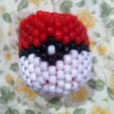 Large Kandi Pokeball