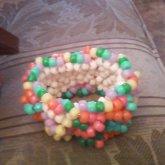 Criss-cross Rainbow 3dish Cuff