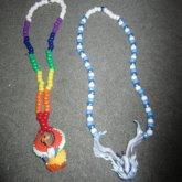 Ho-oh And Lugia Kandi Necklaces <3