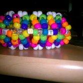 Rainbow UFO 3D Cuff