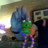Froggy! With FUZZY BALLZ!