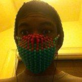 My kandi mask