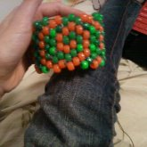 First Kandi Cuff I Made. Old