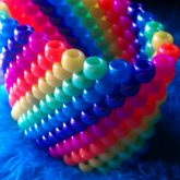 Peyote Stitch Rainbow Cuff