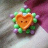Kandi Star With Heart