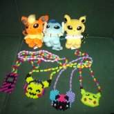 All Of My Kandi Necklaces