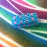 Cotton Candy Colored X Cuff