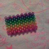 Sparkely Rainbow Cuff
