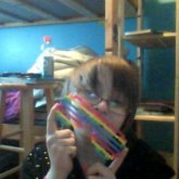 Perler Beads Rainbow Shutter Shades