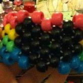 Rainbow And Black Heart