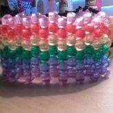 Translucent Rainbow Cuff