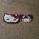 Hello Kitty Ft Hello Kitty In A  DeadMau5 Hat :))