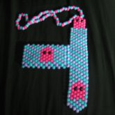 Pacman Ghost Tie And Cuff Set