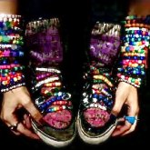 My Shoes And Singles :D <3