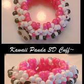 KAWAII PANDA 3D CUFF