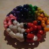 3-D Rainbow Cuff :)