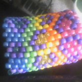 Rainbow Leopard  Cuff