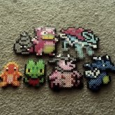 Pokemon Fuse Bead Creations