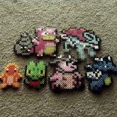 Pokemon Fuse Bead Creations