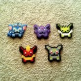 Eeveelution Fuse Bead