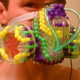 Technicolor kandi gas mask