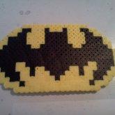 Batman Perler Bead Belt Buckle Thing-A-Majig